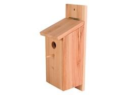 En fuglekasse til fugle i haven (foto: lavprisdyrehandel.dk)